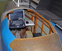 MS Flight sim in D4 Link trainer shell