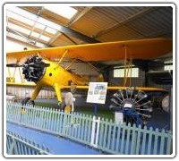 Boeing Stearman in the Ken Wallis Hall
