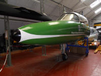 Hawker Hunter T.12 nose