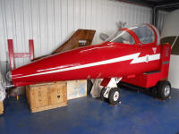 Folland Gnat cockpit procedures trainer