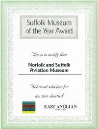 Suffolk Museum of Year shortlist 2014