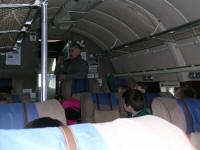 Inside the Valetta aircraft